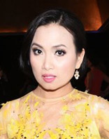 Ha Phuong at Women in Film Crystal and Lucy Awards 2015