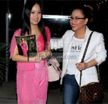 Ha Phuong and Minh Tuyet